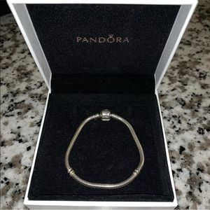 AUTHENTIC Pandora - Moments Snake Chain Bracelet